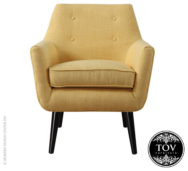 tov clyde mustard yellow linen chair modern armchairs accent chairs los angeles by. Black Bedroom Furniture Sets. Home Design Ideas