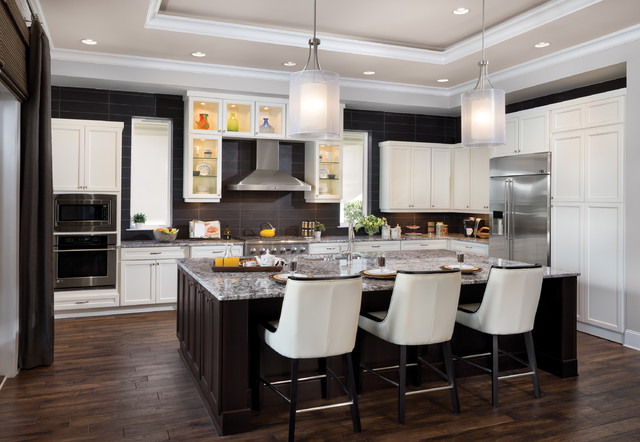 Interior Design Model Home - Montalcino (1303) - Transitional - Kitchen - tampa - by ...