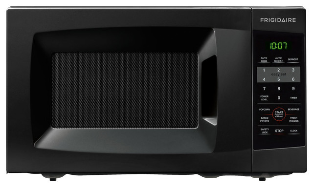 Countertop Microwave Gardenweb : Countertop Microwave, Black, 0.7 Cubic Ft. - Contemporary - Microwave ...