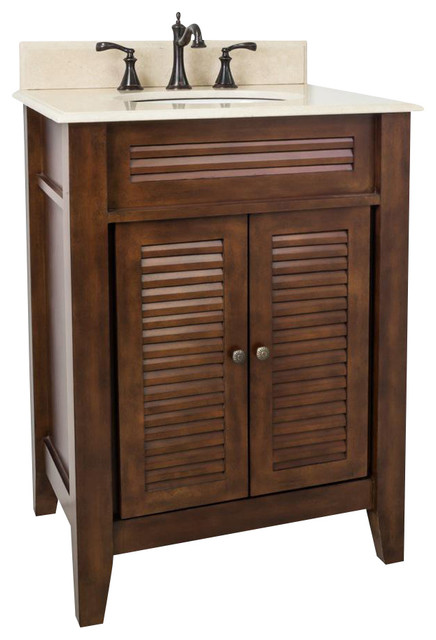 Shop Houzz Hardware Resources Elements Lindley Vanity With Preassembled Top And Bowl