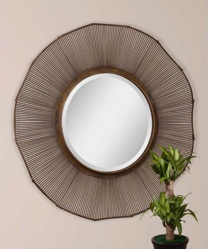 Temecula Round Wall Mirror Modern Wall Mirrors