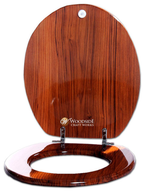 Wooden Toilet Seat Covers Contemporary Toilet Seats