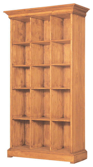 Mexican Pine Bookcase - Rustic - Bookcases - by Tres Amigos Furniture and Accessories