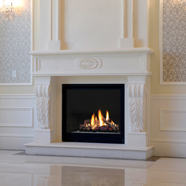 Marble fireplace mantels gainsville traditional