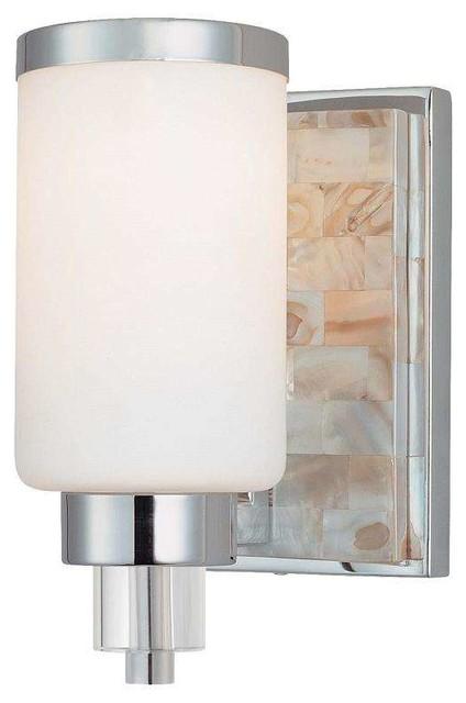 Contemporary Chrome Vanity Lights : Minka Lavery 3241-77 Cashelmara Bathroom Light In Chrome contemporary-bathroom-vanity-lighting
