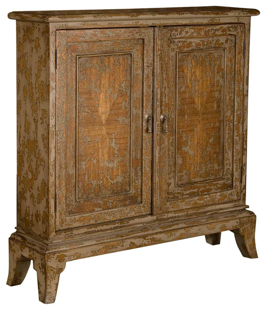 ... Door Distressed Mahogany Wood Cabinet traditional-storage-cabinets
