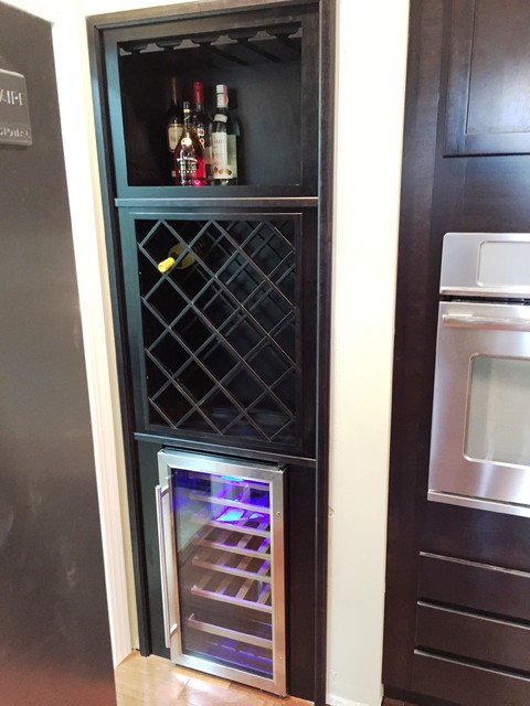 Beverage Center - huntington - by Kitchens By Woody's