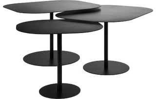 Galets tables basses gigognes modern coffee table sets by habitat officiel - Table basse forme galet ...