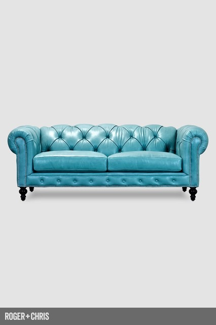 Higgins Chesterfield Sofa Traditional Sofas other metro by Roger + Chris