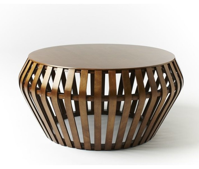 Bentwood Coffee Table Contemporary Coffee Tables By West Elm