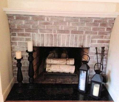 Whitewashed Wood Floors Yes Or No: POLL: White Wash Brick Fireplace? Yes Or No?