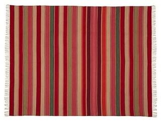 Hermosa Stripe Recycled Yarn Indoor/Outdoor Rug, 2.5 x 9', Multi ...