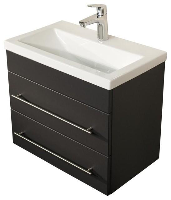 badm bel mars 600 slimline anthrazit seidenglanz modern. Black Bedroom Furniture Sets. Home Design Ideas