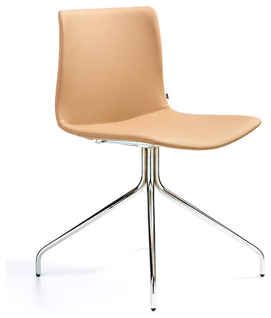 Rest swivel chair by b t design modern dining chairs for Swivel dining chairs modern