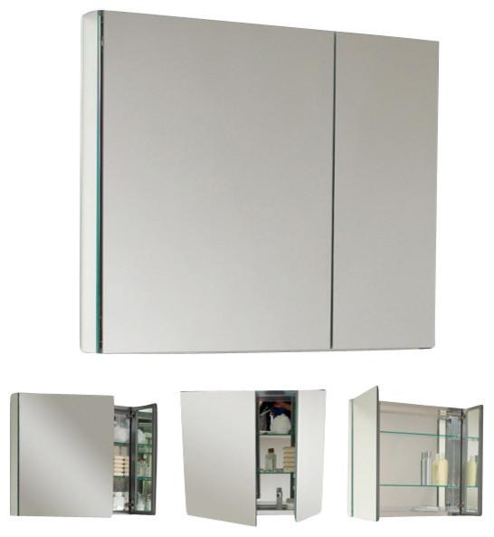 fresca fmc8010 40 inches wide bathroom medicine cabinet