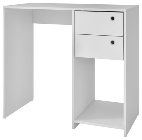 Accentuations Practical Pascara Work Desk With 2 Drawers