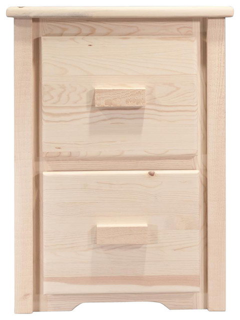 2-Drawer File Cabinet - Rustic - Filing Cabinets - by ShopLadder