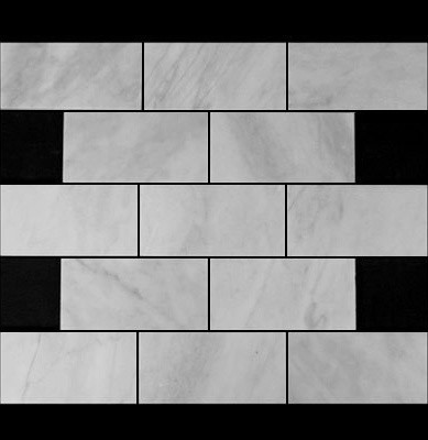 How much is this tile per square foot for Carrara marble per square foot