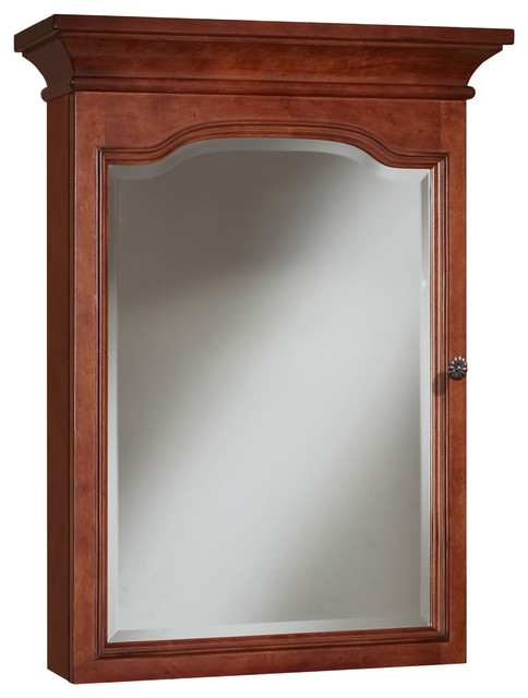 Cambrian Mirrored Medicine Cabinet - Traditional - Medicine Cabinets - by Sunny Wood Products