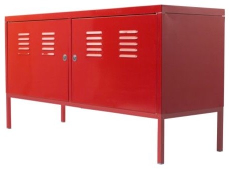 Ikea ps cabinet ikea contemporary buffets and sideboards by ikea - Buffet metallique ikea ...