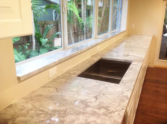 quartzite kitchen countertops installation in miami