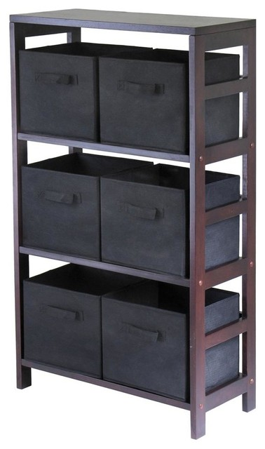 ... Storage Cabinet w Three Shelves contemporary-display-and-wall-shelves