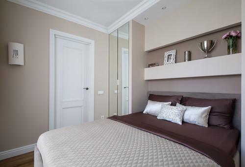 Интерьер двухкомнатной квартиры в доме серии 1-511