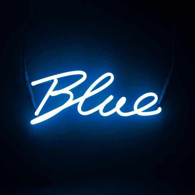 Seletti Shades Blue Neon Lamp Novelty Lights South