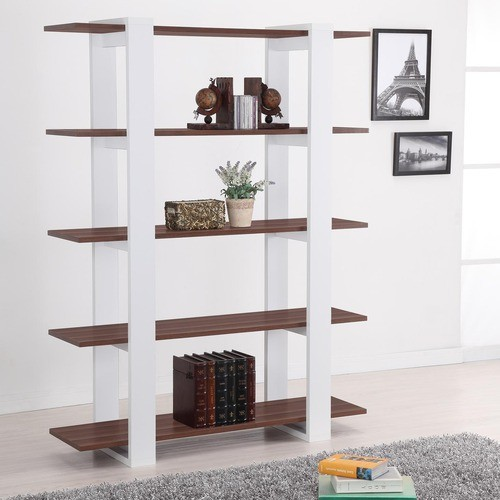 Haven 5 Tier Display Bookshelf Modern Bookcases By