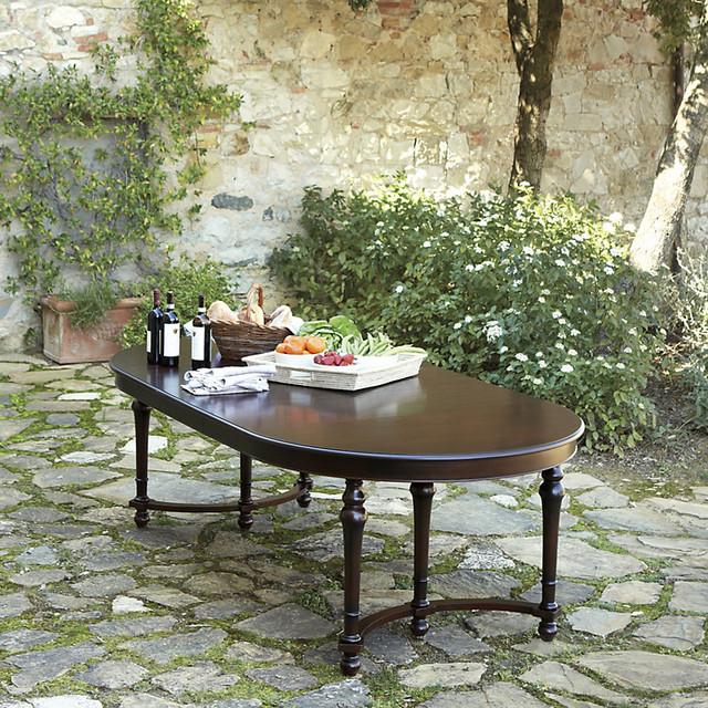 Ballard Designs Casa Florentina Farnese Dining Table  : contemporary dining tables from www.houzz.com size 640 x 640 jpeg 235kB