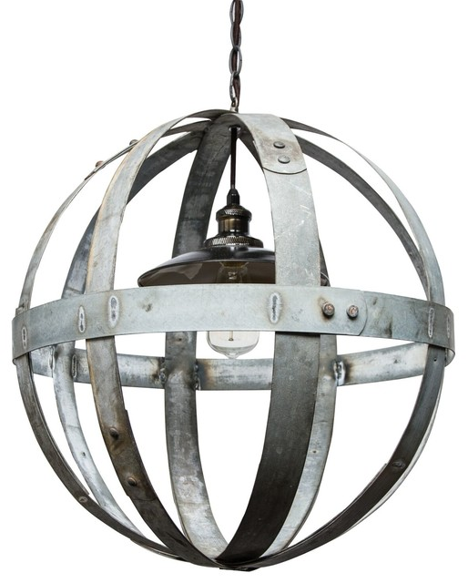Globe Chandelier Industrial Chandeliers By Napa East Collection
