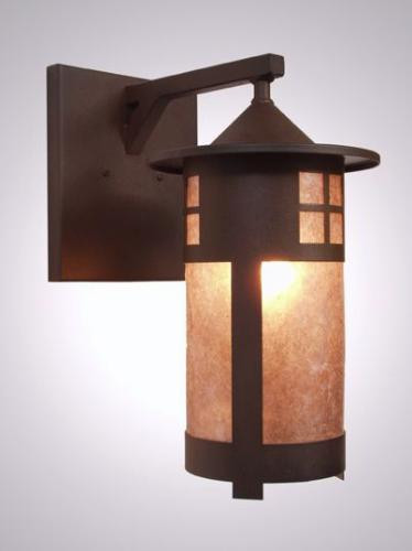 Wall Sconces Location : Steel Partners Wet Sconce - PASADENA - Wet Location Wall Light - Rustic - Outdoor Wall Lights ...