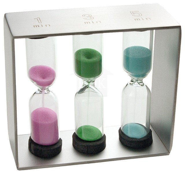 Rsvp Endurance Sand Timer Modern Kitchen Timers By Healthy Home And Kitchen