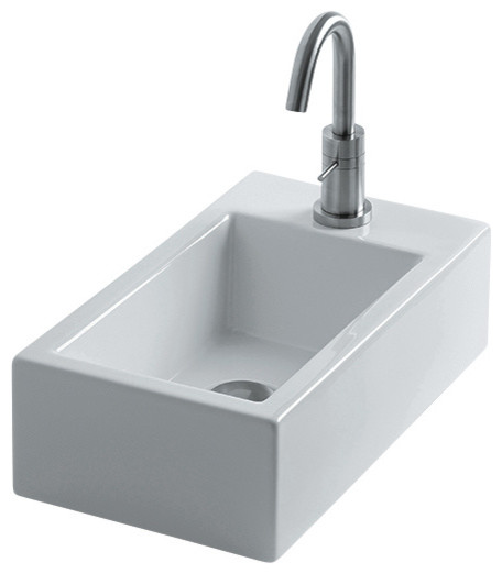 Hox vessel bathroom sinks mini 45c contemporary bathroom basins by modo bath - Designer bathroom sinks basins ...