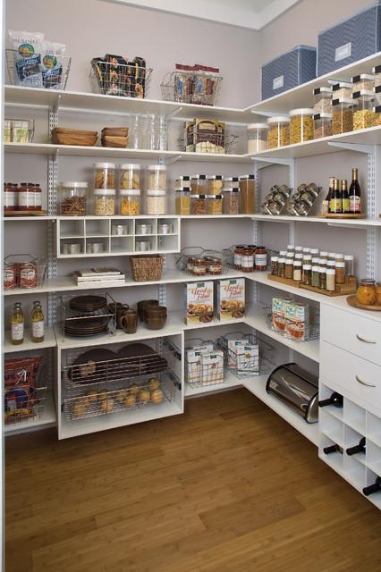 Organized living white pantry cincinnati by organized - Ikea rangement cellier ...