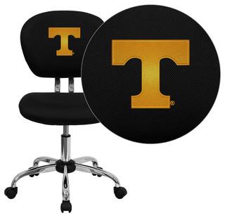Tennessee Volunteers Embroidered Black Mesh Task Chair