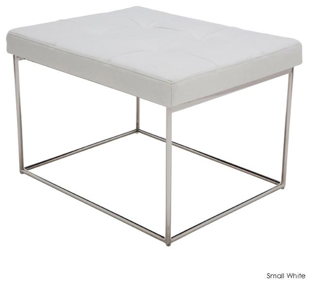 Caen Bench, White, Small