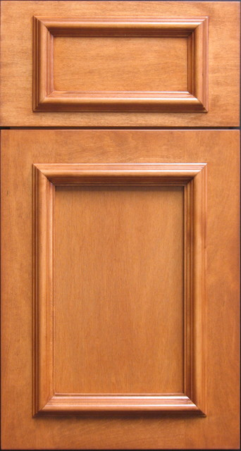 Eastern Maple Shaker Cabinet door with Onlay Moulding - Craftsman - Other - by Style Line Custom ...