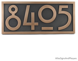 stickley numbers only 16 x 7 in bronze patina arts. Black Bedroom Furniture Sets. Home Design Ideas