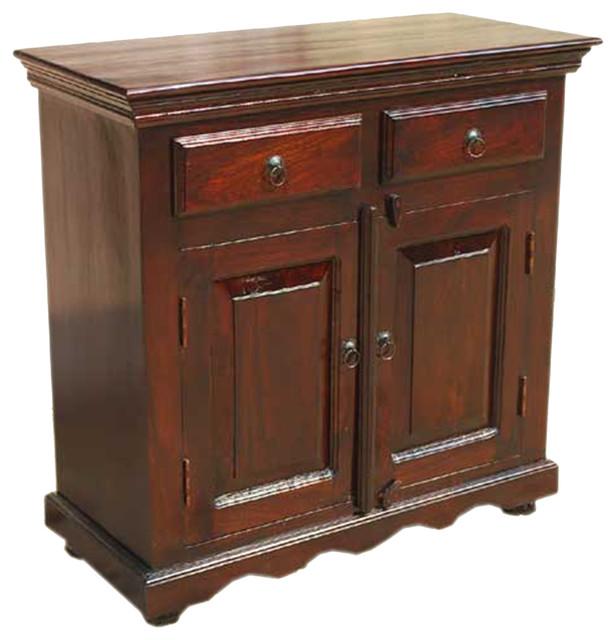Solid wood handmade storage buffet door drawer