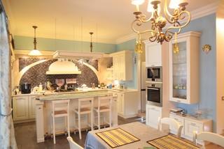 experiments in art nouveau style   modern   kitchen