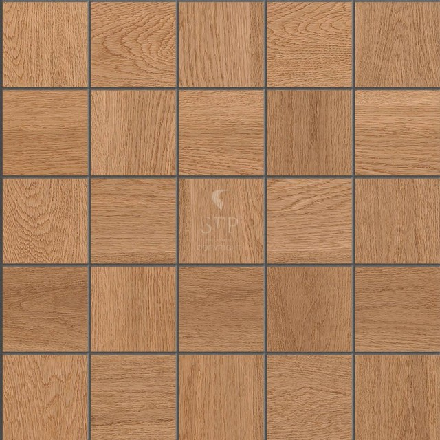 Stp wood flooring wall covering oak mosaics natural for Hardwood floor covering
