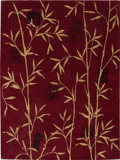nourison promotion chambord cm07 7 39 9 x10 39 10 red asiatique tapis de d coration par. Black Bedroom Furniture Sets. Home Design Ideas