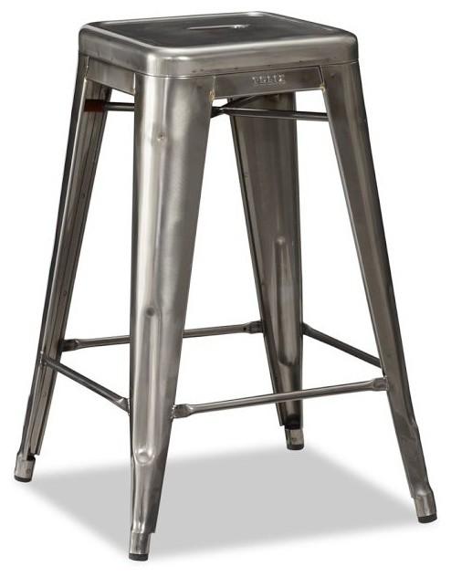 Tolix bar stool modern bar stools and counter stools - Tolix counter stools ...