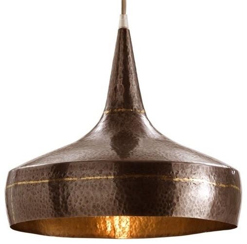 Arteriors mason wide hammered pendant cl sico l mparas - Dowling iluminacion ...