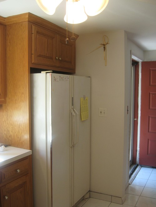 Front Door Opens Right Into The Kitchen