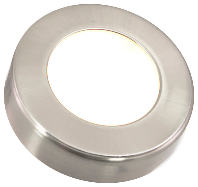 Omni LED Puck Light, Nickel - Traditional - Recessed Lighting - by American Lighting Inc