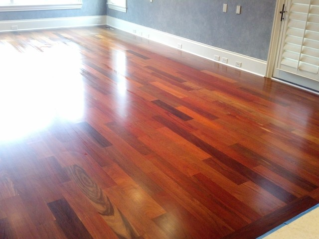 Ipe brazilian walnut hardwood floor for Wooden flooring dealers