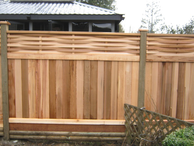 how to build a basket weave fence