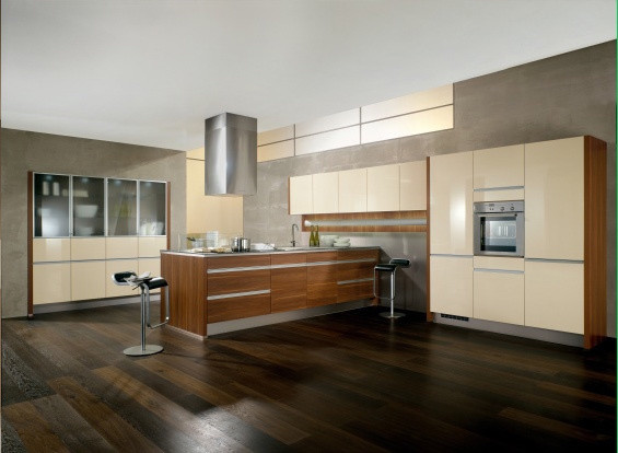 C channel style Kitchen Cabinets